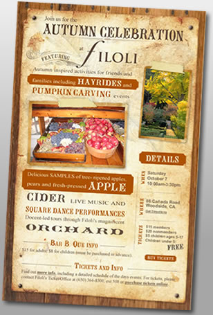 Filoli Autumn Celebration
