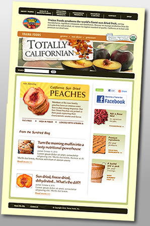 Traina Foods Website